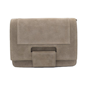 Number Five KAAT SUEDE BAG - TAUPE