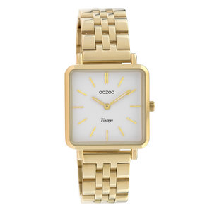 Oozoo OOZOO VINTAGE CHAIN WATCH - GOLD/WHITE