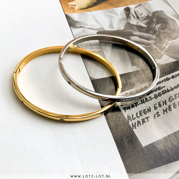 Lotz & Lot BANGLE BRACELET - GOLD