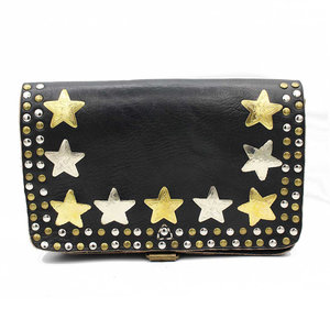 Studs & Stones LOT SQUARE BAG M - BLACK