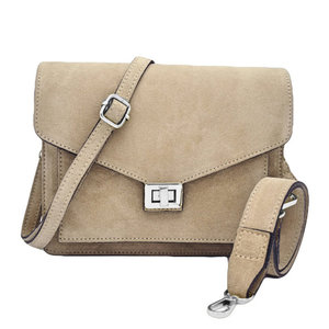 Number Five BEAU BAG - BEIGE/SILVER