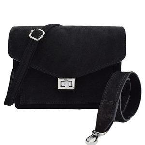 Number Five BEAU BAG - BLACK/SILVER