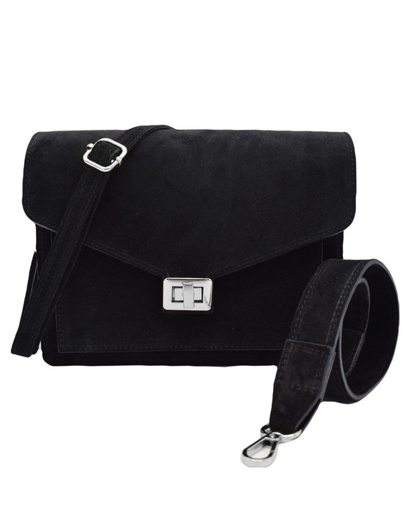 Number Five BEAU BAG - BLACK/SILVER