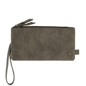Zusss ZUSSS CLUTCH - GREY
