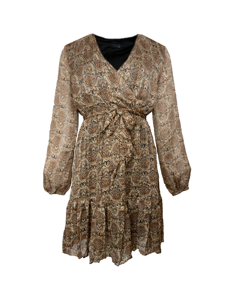 Lotz & Lot INDY DRESS - RUST