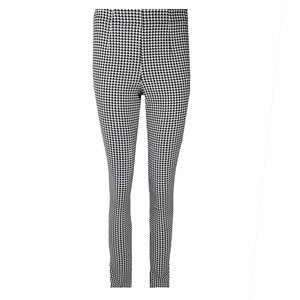 Colourful Rebel JANICE HOUNDSTOOTH TREGGING - BLACK/WHITE