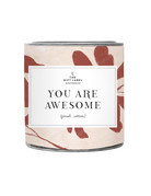 The Gift Label YOU ARE AWESOME - BIG SCENTED CANDLE