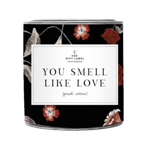 The Gift Label SMELL LIKE LOVE - BIG SCENTED CANDLE