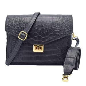Number Five BEAU BAG  - BLACK/GOLD