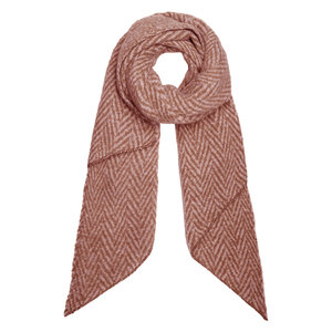 Lotz & Lot SCARF WINTER ZIGZAG - ROEST