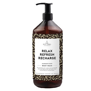 The Gift Label RELAX REFRESH RECHARGE - BODY WASH