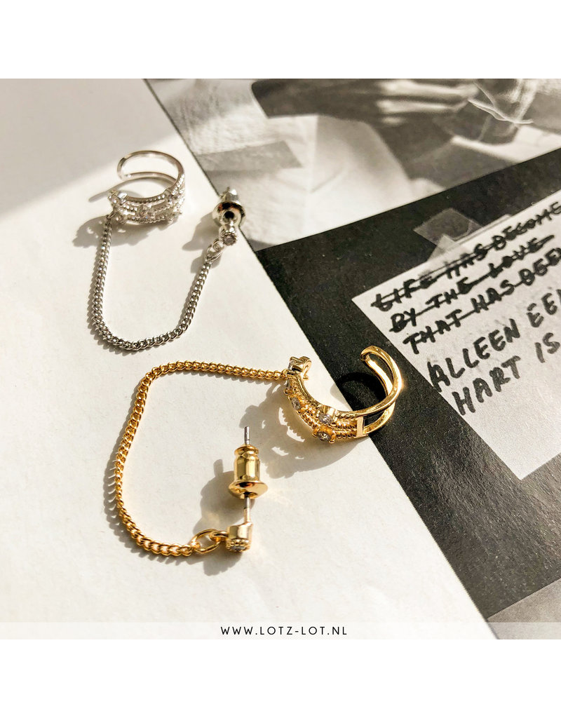 Lotz & Lot ZOLA EARCUFF - GOLD