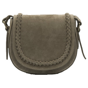 Lotz & Lot CHELSEA SUDE BAG - TAUPE