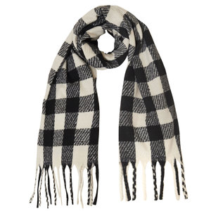 Lotz & Lot SCARF SOPHISTICATED -CHECKED