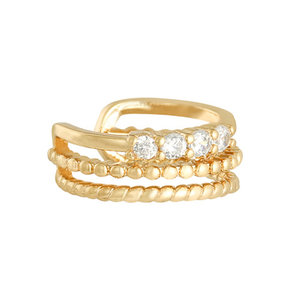 Lotz & Lot ROYAL EARCUFF - GOLD