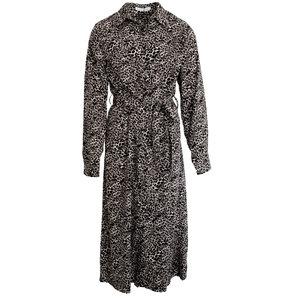 Lotz & Lot CELINE DRESS PANTER - GREY