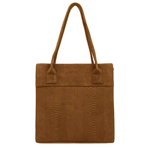 Dstrct DSTRCT PORTLAND ROAD SHOPPER MEDIUM - COGNAC