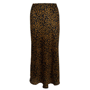 Lotz & Lot ZIGGY PANTER SKIRT - BROWN/BLACK L