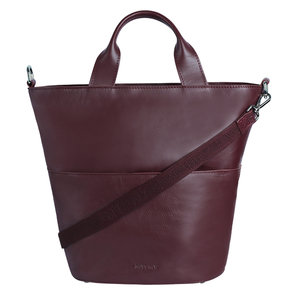 Myomy MY BUCKET HANDBAG - AUBERGINE