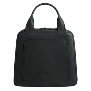 Myomy MY LOCKER HANDBAG - HUNTER OFF BLACK