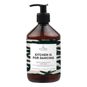 The Gift Label KITCHEN IS FOR DANCING - HAND SOAP
