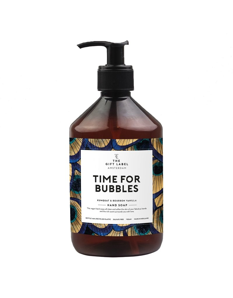The Gift Label TIME FOR BUBBLES -  HAND SOAP