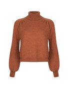 Ydence PASCALLE COL KNIT- BROWN