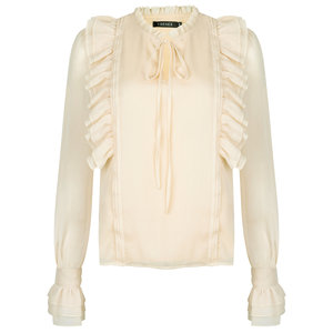 Ydence CHARLIE BLOUSE - CREAM