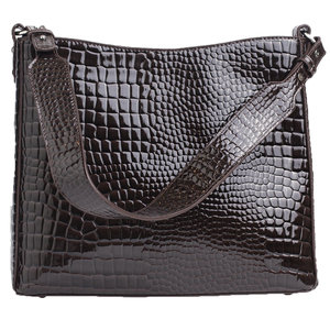 Hvisk AMBLE CROCO - DARK BROWN