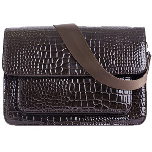 Hvisk BASEL CROCO - DARK BROWN