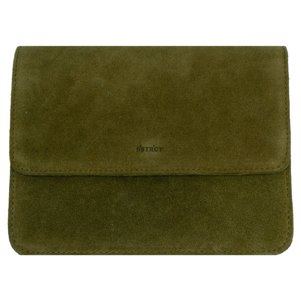 Dstrct DSTRCT DECENT SUEDE BAG - GREEN