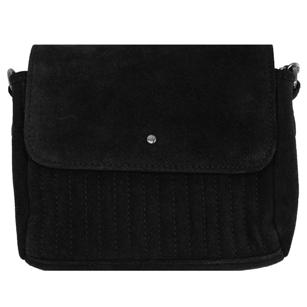 Dstrct DSTRCT SUEDE BAG - BLACK