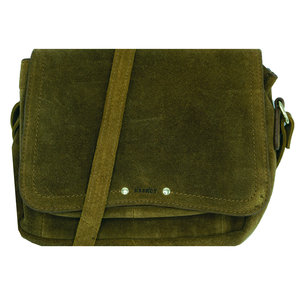 Dstrct DSTRCT PORTLAND SUEDE BAG - GREEN