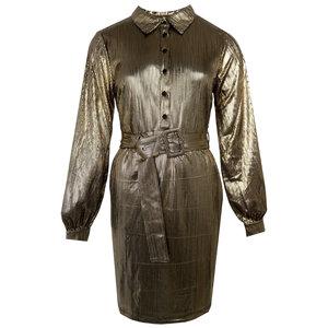 Rut & Circle SERENA DRESS - GOLD