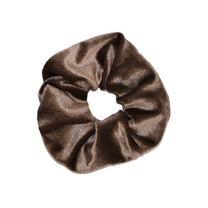 SCRUNCHIE VELVET - OLD PINK