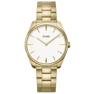 Cluse CLUSE FEROCE STEEL WHITE - GOLD