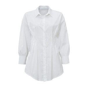 BELLE BLOUSE - WHITE ONE SIZE