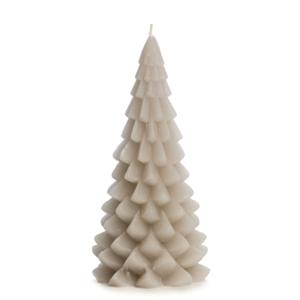 Lotz & Lot CANDLE CHRISTMAS TREE M - BEIGE