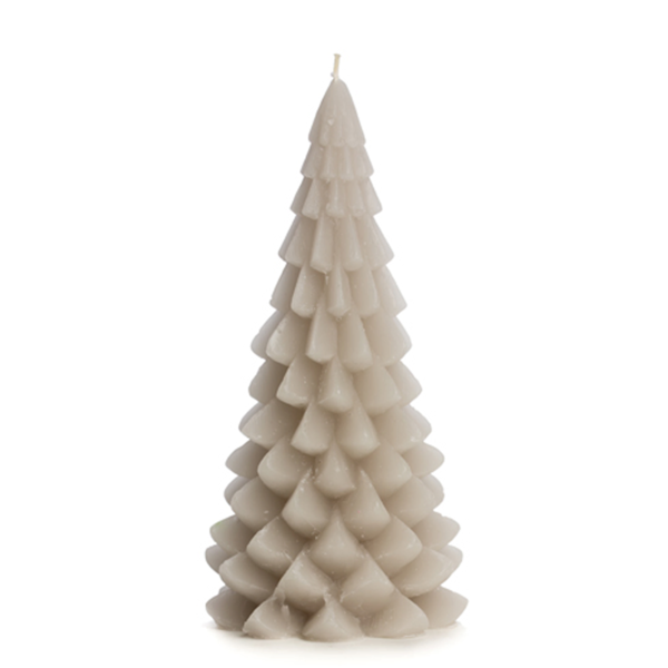 Lotz & Lot CANDLE CHRISTMAS TREE M - BEIGE