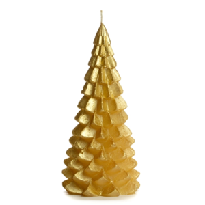 Lotz & Lot CANDLE CHRISTMAS TREE M - GOLD
