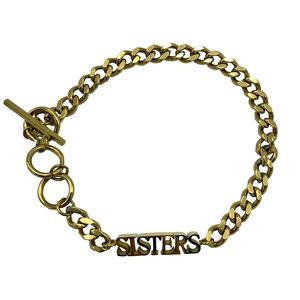 By Jam SISTERS BRACELET -GOLD
