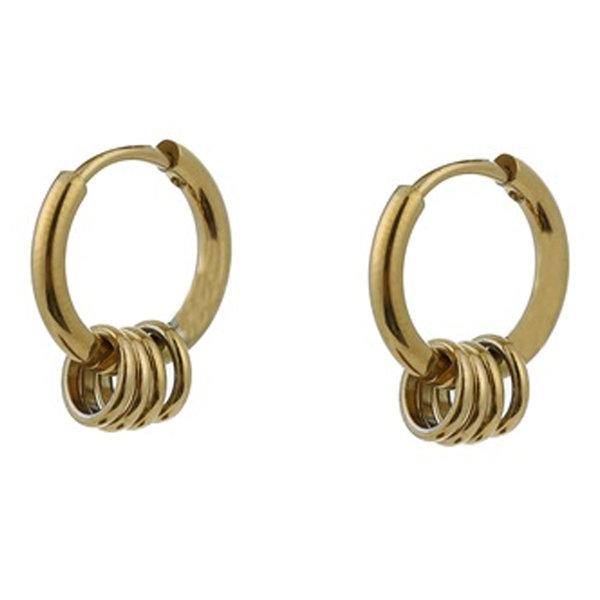 Go Dutch RINGS EARRING - GOLD