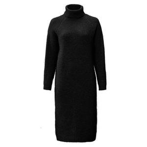 Lotz & Lot BIBI COL DRESS - BLACK ONE SIZE