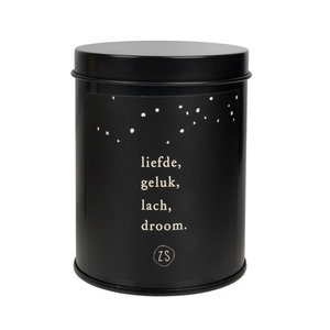 Zusss ZUSSS LIEFDE, GELUK, LACH, DROOM- SCENTED CANDLE