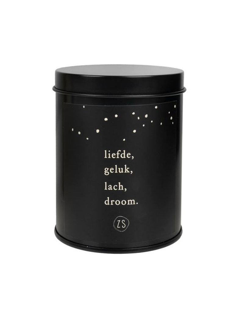 Zusss ZUSSS LIEFDE, GELUK, LACH, DROOM- SCENTED CANDLE