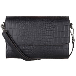 Cowboysbag BAG TOPEZ - CROCO BLACK