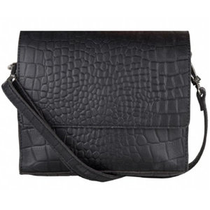 Cowboysbag BAG SAPPHIRE - CROCO BLACK