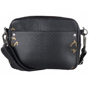 Cowboysbag BAG BOBBIE - CROCO BLACK/GOLD