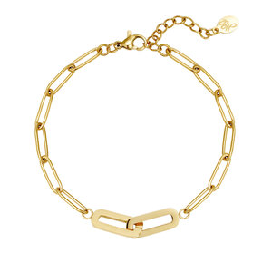 Lotz & Lot CHAIN ARMBAND - GOLD