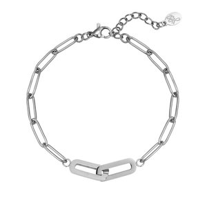 Lotz & Lot DOUBLE CHAIN BRACELET - SILVER